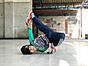 Youngest B-Boy of India - B-Boying Tournament COMBONation